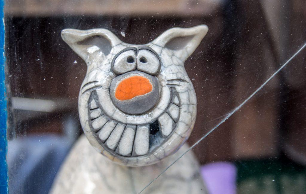 Keramik gestalten in der Rakurität in Saal